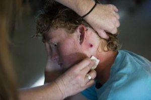 """Jovem que sobreviveu a tiroteio em escola: """"Fui salvo pela graça de Deus"""""""