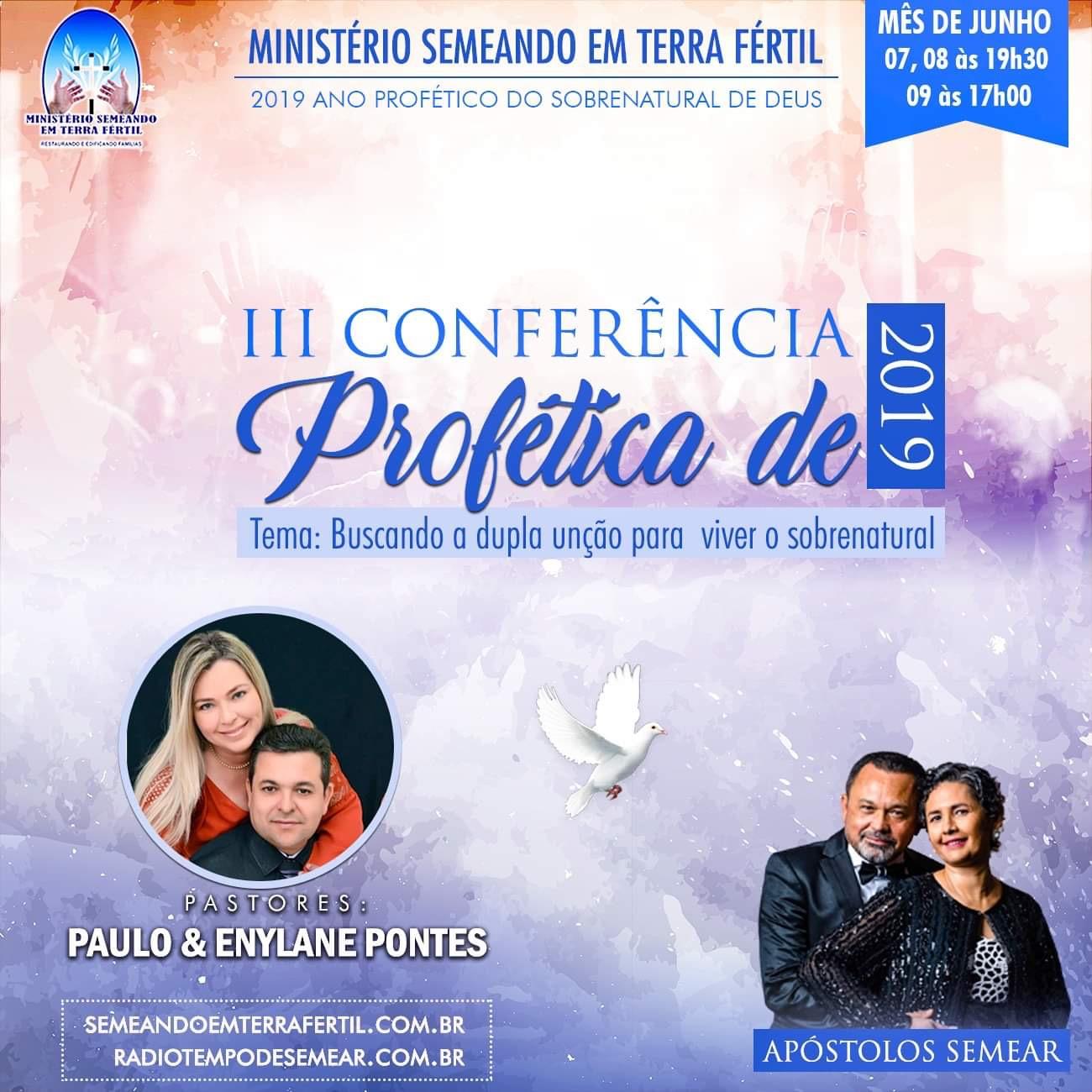 III Conferência Profética Junho de 2019