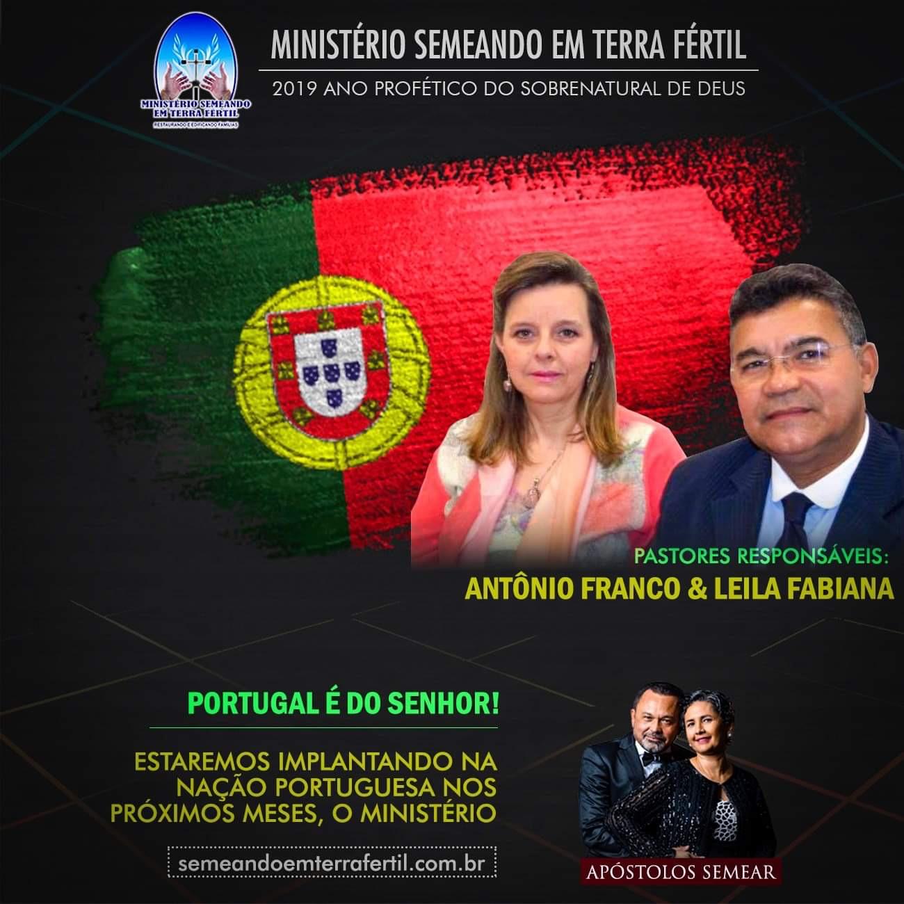 Portugal é do Senhor Jesus.