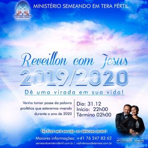 REVEILLON COM JESUS – 31.12.2019